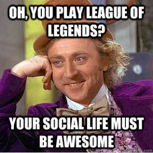 Play league of legends